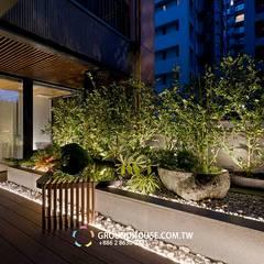Terrazas de estilo  por 大地工房景觀公司