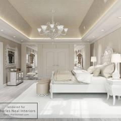 Dom w USA: styl , w kategorii Sypialnia zaprojektowany przez Design studio TZinterior group