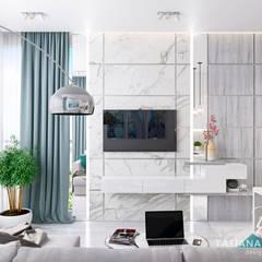 DM Lipki: styl , w kategorii Pokój multimedialny zaprojektowany przez Design studio TZinterior group