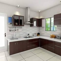 Kitchen:  Kitchen units by unlimteddesigns/bansal designs