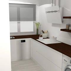 Cocina y salón-comedor: Cocinas integrales de estilo  de M2 Al Detalle