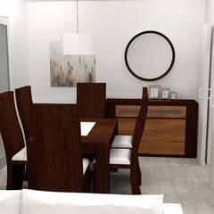 Cocina y salón-comedor: Comedores de estilo  de M2 Al Detalle