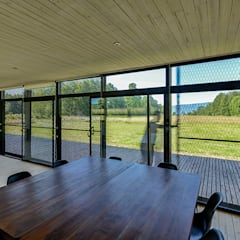 Casa en Molco: Comedores de estilo  por mutarestudio Arquitectura