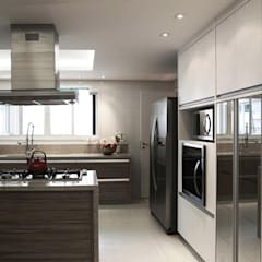 Kitchen units by INSIDE ARQUITETURA E DESIGN