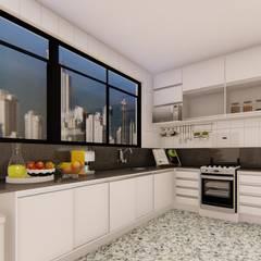 Cozinha Planejada: Cozinhas embutidas  por TRAIT ARQUITETURA E DESIGN