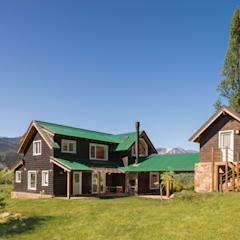 منزل خشبي تنفيذ Patagonia Log Homes - Arquitectos - Neuquén
