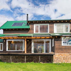 Houten huis door Patagonia Log Homes - Arquitectos - Neuquén