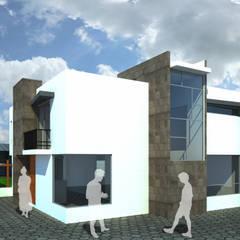 COCO H: Casas de campo de estilo  por ODRACIR