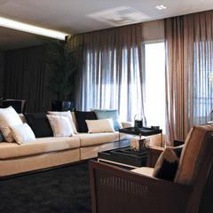 Apartamente - RÚSTICO-CHIC: Salas de jantar  por INSIDE ARQUITETURA E DESIGN