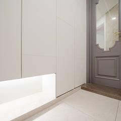 주방을 포인트로 만든 청라린스트라우스: 디자인 아버의  복도 & 현관