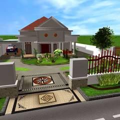 Jasa desain Taman 3 Dimensi:  Ruang Komersial by Tukang Taman Surabaya - flamboyanasri