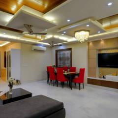 modern Living room by shritee ashish & associates