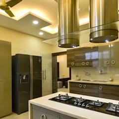 Built-in kitchens by shritee ashish & associates