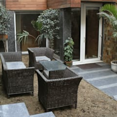 Front garden by shritee ashish & associates