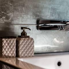 Zdjęcie baterii podtynkowej: styl , w kategorii Łazienka zaprojektowany przez Viva Design - projektowanie wnętrz