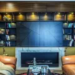 Zdjęcie zabudowy RTV: styl , w kategorii Salon zaprojektowany przez Viva Design - projektowanie wnętrz