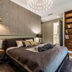 Zdjęcie sypialni: styl , w kategorii Sypialnia zaprojektowany przez Viva Design - projektowanie wnętrz
