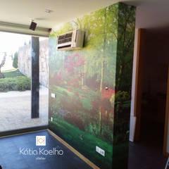 SPA de Luxo em Barcelos: Spas  por Atelier Kátia Koelho,Moderno