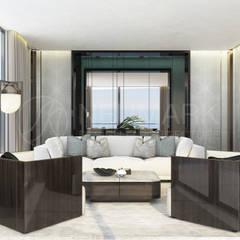 Living room by Anton Neumark, Modern