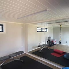 Nordic Room as a home gym: scandinavian Gym by Nordic Wood Ltd
