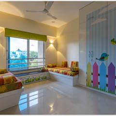 Nursery/kid's room by GREEN HAT STUDIO PVT LTD