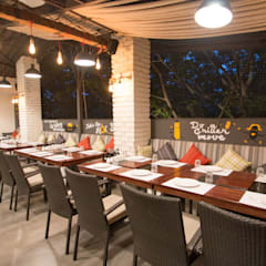Completed Commercial Project - Barbecued:  Gastronomy by Atom Interiors,Modern