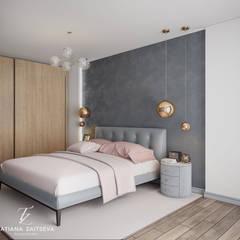 Mieszkanie w stylu loft: styl , w kategorii Sypialnia zaprojektowany przez Design studio TZinterior group