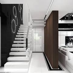 MAKE IT HAPPEN | I | Wnętrza domu: styl , w kategorii Schody zaprojektowany przez ARTDESIGN architektura wnętrz