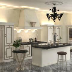 Cucina : Cucina attrezzata in stile  di Andrea Bendinelli - Interior Design