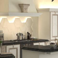 Cucina Vivaldi: Cucina in stile in stile Classico di Andrea Bendinelli - Interior Design