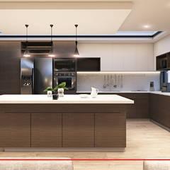 Proyecto AM-1: Cocinas de estilo  por CODIAN CONSTRUCTORA