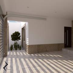 Garajes abiertos de estilo  por RJ Arquitectos