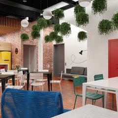 Centro de Convivência: Edifícios comerciais  por Maq Arquitetura
