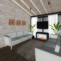 SALA: Salas de estilo  por WIGO SC