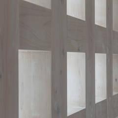 谷田の家: 前田篤伸建築都市設計事務所が手掛けた壁です。