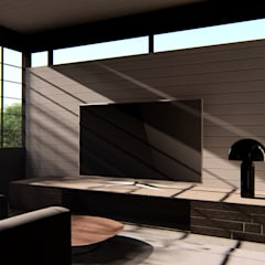 House Study 03: Ruang Keluarga oleh alexander and philips,