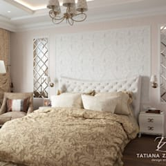DM Chelsea Tower: styl , w kategorii Sypialnia zaprojektowany przez Design studio TZinterior group