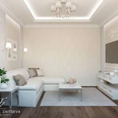 DM Chelsea Tower: styl , w kategorii Pokój multimedialny zaprojektowany przez Design studio TZinterior group