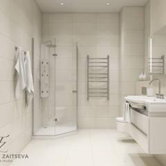 DM Chelsea Tower: styl , w kategorii Łazienka zaprojektowany przez Design studio TZinterior group