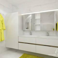 DM Hofman: styl , w kategorii Łazienka zaprojektowany przez Design studio TZinterior group