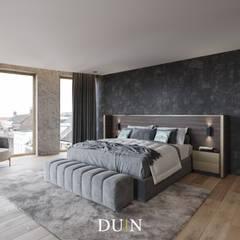 Fine Luxury Master Bedroom, Merckt Groningen:  Slaapkamer door DUIN INTERIOR