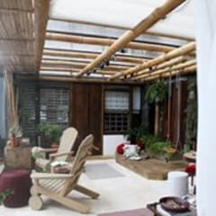 Conservatory by Arquitetura em foto, Country