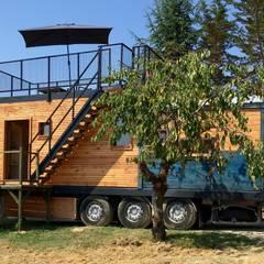 Maison Nomade: Maisons de plain-pied de style  par Jardin boheme