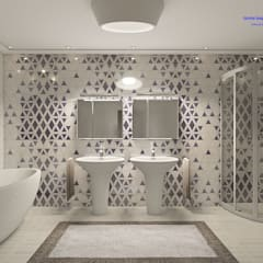 Bathroom:  Bathroom by 'Design studio S-8'