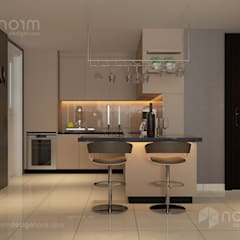 Home design of Residence 22, Mont Kiara:  Kitchen by Norm designhaus