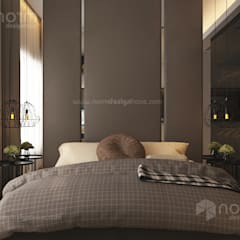 Residence 22, Mont Kiara:  Bedroom by Norm designhaus
