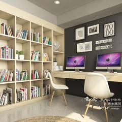 Study/office by 木博士團隊/動念室內設計制作