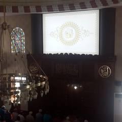 OTTOVA Gergi Tavan Sistemleri – Cami Gergi Tavan Aydınlatma ve Dekorasyonu: klasik tarz tarz Çalışma Odası