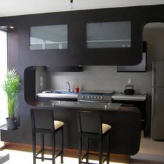 Cocina: Cocinas de estilo moderno por emARTquitectura