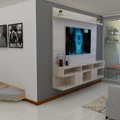zona mascotas : Salas de estilo  por Naromi  Design